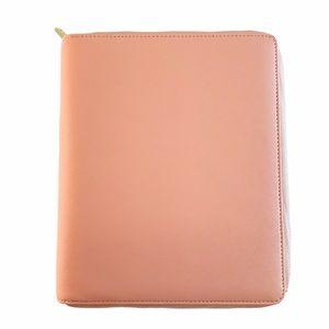 Kikki.K Leather Saffiano Luxury Planner Zip A5